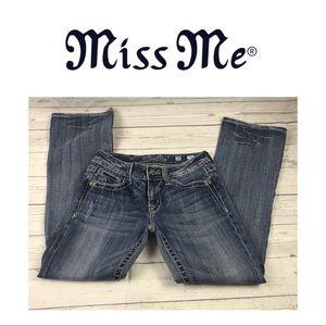 Miss Me Designer Boot Cut Jeans. Sz 28